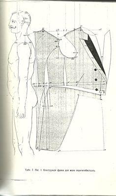 Försöker förstå hur ett mönster till en rock är uppbyggt. Pattern, coat. Costume Patterns, Coat Patterns, Clothing Patterns, Sewing Patterns, Suit Pattern, Corset Pattern, Historical Costume, Historical Clothing, Fashion Figure Templates