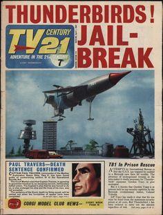 TV 21 #115 FIREBALL XL5/THUNDERBIRDS/ZERO X/STINGRAY.