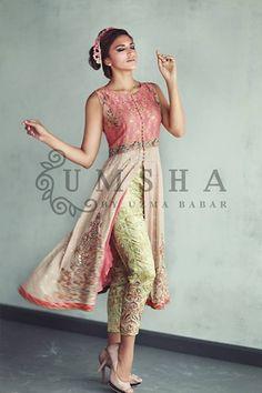 Umsha By Uzma Babar Eid Dresses 2015 for Girls