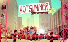 Free HD f(X) Hot Summer Album Wallpaper Pictures collection. Download all f(x) Wallpaper HD quality.