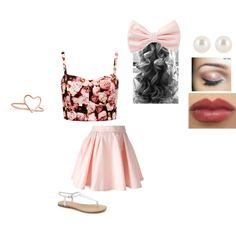 """ariana grande's style"" by icecreamlover77 on Polyvore"