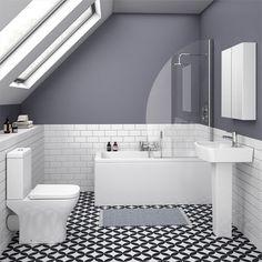 On a budget? Small Bathroom Renovations - KUKUN - small bathroom tiles [simple decoration ideas, interior design, home design, decoration, decoration - Small Bathroom Tiles, Small Bathroom Renovations, Loft Bathroom, Bathroom Paint Colors, Ensuite Bathrooms, Bathroom Flooring, Bathroom Interior, Master Bathroom, Modern Bathrooms