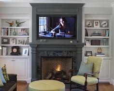 flat screen tv placement