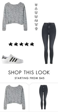 """""""Untitled #573"""" by kimberly58227 ❤ liked on Polyvore featuring Bodkin, Topshop and adidas"""