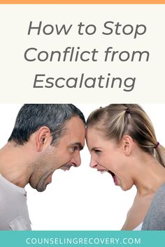 You can stop conflict from escalating in relationships and prevent bad habits from ruining your relationship. Learn one simple yet effective way to stay calm and avoid misunderstandings. #anger #conflict #resolution #frustration Interpersonal Relationship, Abusive Relationship, Relationship Problems, Relationship Tips, Relationships, Anger Management Quotes, How To Control Anger, Break Up Quotes, Grief Support