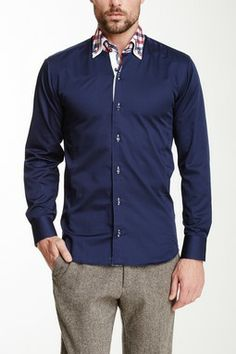 Pointsec Red Square Long Sleeve Shirt