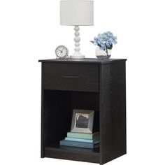 Nightstand MDF End Tables Pair Bedroom Table Furniture Mu...
