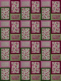 Easy quilt pattern and so sweet! by sharon65