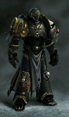 Dungeons And Dragons Characters, Dnd Characters, Fantasy Characters, Warhammer Art, Warhammer 40000, Fantasy Armor, Dark Fantasy Art, Fantasy Character Design, Character Art