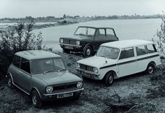 In 1969 the Mini Clubman range was launched. Basically the same body shell with a totally revised front end. Models consisted of Clubman, Clubman Estate and 1275 GT. At last wind up windows were featured Mini Clubman, Mini Countryman, Morris Minor, Retro Cars, Vintage Cars, Classic Mini, Classic Cars, Bike Engine, Camper Caravan