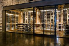 Travel Log: Silver Oak Cellars, Napa, California — Bottom of My Sleeve Glass Wine Cellar, Wine Cellar Design, Wine Shop Interior, Modern Home Bar Designs, Wine Cellar Basement, Wine Rooms, Wine House, Kagoshima, Alien Art