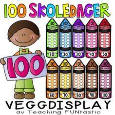 Tegnsetting - plakater - Teaching Funtastic The 100, Display, Teaching, Education, Floor Space, Billboard, Onderwijs, Learning, Tutorials