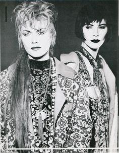 Blitz photoshoot featuring Pam Hogg #80s