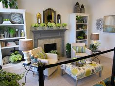 Beautiful room using blues, greens and taupes and of course all Willow House Products! www.hollybaylis.willowhouse.com