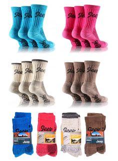 Jeep Ladies Socks Luxury Chunky Womens Terrain Boot Socks £7.99