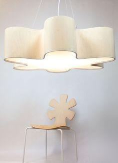 LED handmade pendant lamp GIANT LOTUS by Lampa | #design Marta Baumiller