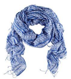 Blue scarf, I love it Accessoires, Chaussure, Écharpe Surdimensionnée,  Écharpe À Franges 506ebbb05c6