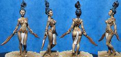 Hasslefree Miniatures - Shop - Fantasy & Steampunk - Fantasy Humans - Xanthia (HFH102)