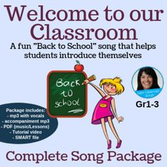 26 Best welcome songs images in 2016 | Teaching music