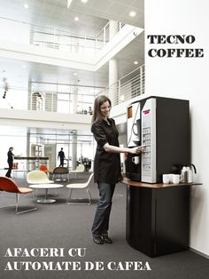 TECNO COFFEE - Afaceri cu automate de cafea (Carte gratuita)  Automatele pentru cafea, şi pentru băuturi în general, sunt foarte diversificate şi uşor de utilizat. Apă, băuturi răcoritoare, siropuri, băuturi energizante, ape aromate, lapte, sunt doar câteva băuturi care pot fi vândute cu ajutorul automatelor pentru băuturi. Automatele pentru băuturi sunt echipate cu celule izolate şi controlul temperaturii pentru distribuţia produselor, în diverse formate de ambalaj.