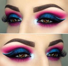 There are a lot of people who nowadays are applying cosmetics using their fingers, in my opinion it looks a lot better if applied using a make-up brush. This article describes the reasons for this and looks at the types of make-up bru Makeup Eye Looks, Beautiful Eye Makeup, Smokey Eye Makeup, Eyeshadow Makeup, Eyeshadow Ideas, Eyeshadows, Morphe Eyeshadow, Smoky Eye, Natural Eyeshadow