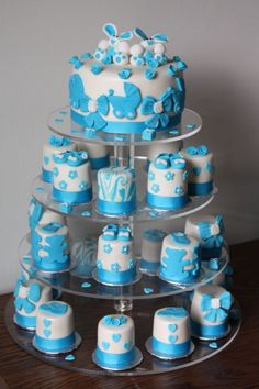 Baby Shower Cake,Mini Cakes
