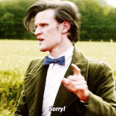 """""""Doctor confused. Doctor not following. You never said I was hot!?!"""""""