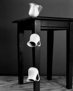 Abelardo Morell / Motion Study of Falling Pitchers / 2004