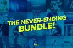 The Never Ending Bundle by beto on @creativemarket