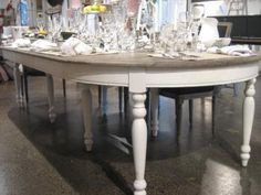 Gorgeous 'Hugo' extendable dining table from Villa Maison.