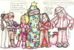 The legend of the christmas by Lillymonkey on DeviantArt