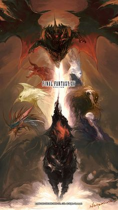 Primals Poster - Characters & Art - Final Fantasy XIV: A Realm Reborn