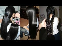 Do This and your Hair will Grow More & More Like This Girl - This is Not a Joke - YouTube