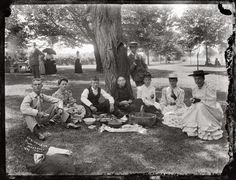 Gay 90s Picnic, Picnic at Marshall Hall, Maryland, 1893