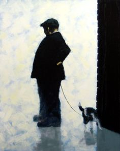 Every Pillar, Every Post Giclée Image size: 20 x 16 Norman Cornish, West Coast Scotland, Art Addiction, Painting People, Dog Art, Mans Best Friend, Contemporary Artists, Lovers Art, Make Me Smile