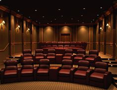 267 Best Home Theater Design Images On Pinterest | Home Theatre, Home  Theaters And At Home Movie Theater