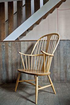 Beech wood Ercol chair