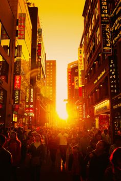 Almost Heaven - Myeongdong can be considered a heaven for shoppers. From sun up to sun down the busy alleys of Myeongdong are always rusting and bustling.