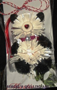 panda bear Panda Bear, Spring 2014, Tote Bag, Crafts, Pandas, Manualidades, Panda, Totes, Handmade Crafts