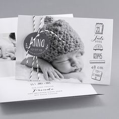 Geburtskarten - Krea