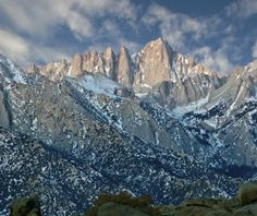 climbed mt whitney in the winter