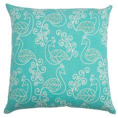 Laurel Pillow in Aqua  at Joss and Main