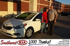 https://flic.kr/p/GMmLsZ | Congratulations Veronica on your #Kia #Forte from Chris Johnson at Southwest KIA Rockwall! | deliverymaxx.com/DealerReviews.aspx?DealerCode=TYEE