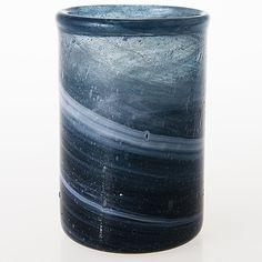 KAJ FRANCK - Glass vase for Nuutajärvi Notsjö, Finland. [h. 16,5 cm, Ø 11 cm] Glass Design, Design Art, Lassi, Bukowski, Finland, Modern Contemporary, Retro Vintage, Glass Vase, Home Decor