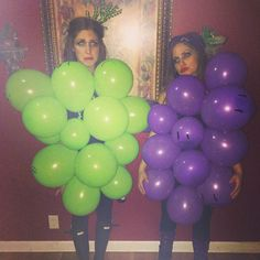 Presenting 'The Grape Depression' -- @gskatula thanks for living out my wildest punny Halloween costume dreams with me ❤️