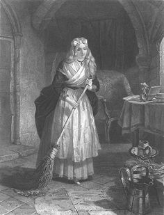 Marie Thérèse Charlotte alone in the Temple prison. Her father, mother, aunt, and younger brother died during her imprisonment at the Tower....