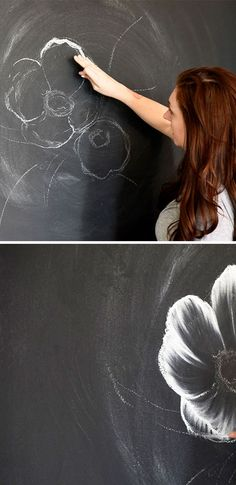 How to create the perfect chalk mural
