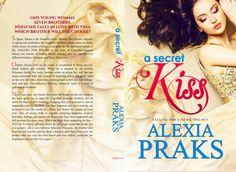 Falling for Sakura: A Secret Kiss paperback book cover