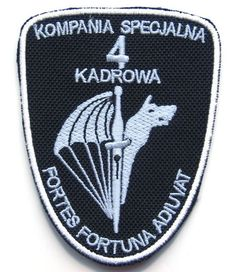 Polish Special Forces Kompania Specjalna 4 Kadrowa Military Patch Poland