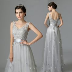 elegant  evening dress prom party dresses appliques dress A line appliques dress  free shipping-in Evening Dresses from Weddings & Events on Aliexpress.com | Alibaba Group